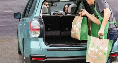 Amazon Launches Their First Drive-Through Grocery Store