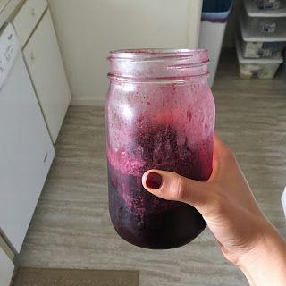 Dr. Meg's Homemade Blueberry Juice
