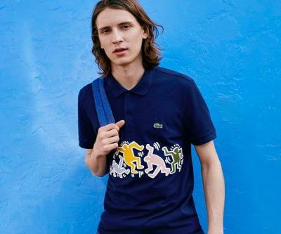 Lacoste Adds Keith Haring Artwork to Classic Pieces