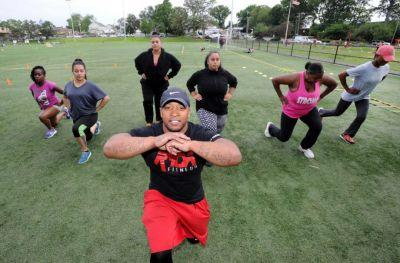 Former drug dealer now helps youth with free exercise classes