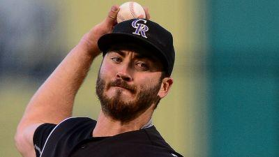 Rockies' Chad Bettis tosses seven scoreless innings in first outing since beating cancer