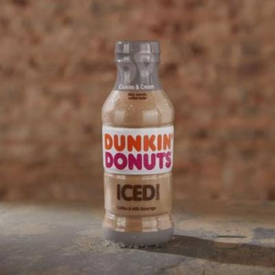 New Cookies & Cream Sweetens Dunkin' Donuts' Lineup of Bottled Iced Coffees