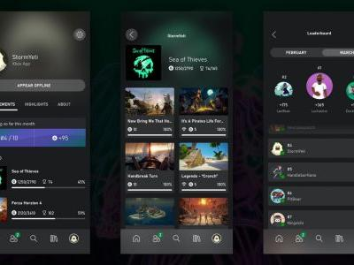 Xbox April Update Xbox App Leaderboards, New Game Pass Features, and More