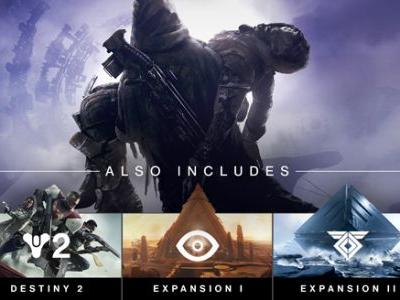 Destiny 2: Forsaken Legendary Collection Includes the Base Game and All Expansions Through Forsaken