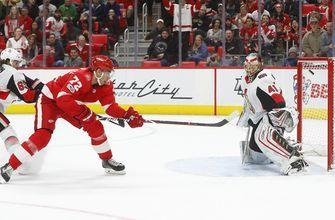 Athanasiou scores 6 seconds into OT, Red Wings top Sens