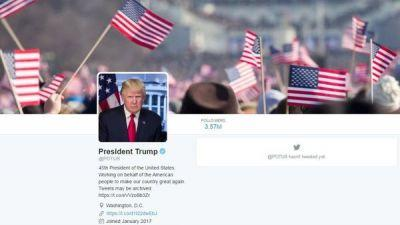 On The Day Of White House Transitions, Twitter Shifts POTUS To Donald Trump