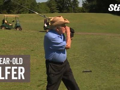 This 100-year-old man's golf scores are lower than his age