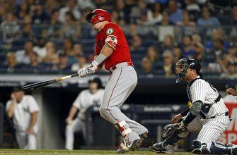 Angels dominate Yankees behind Mike Trout's brilliance at the plate