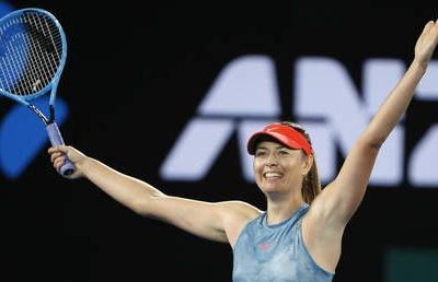 'It's really rewarding to win the last point': Sharapova knocks out defending Australian Open champ