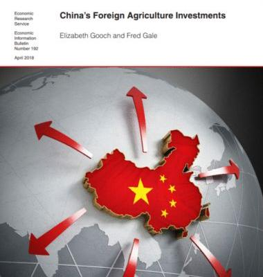 "China's ""outward"" investments in food and agriculture"