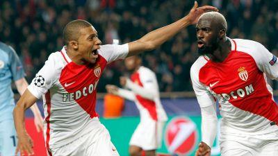 Monaco tops Man City on away goals to reach Champions League quarterfinals