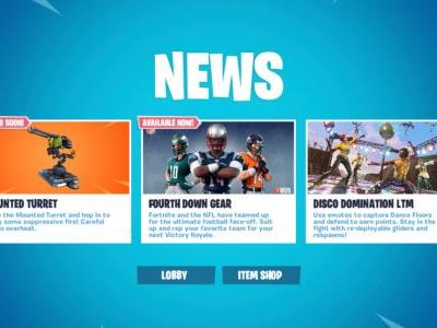 Fortnite's New Mounted Turret Weapon Now Live