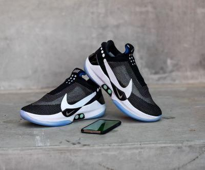 Hands-on with Nike's self-lacing, app-controlled sneaker of the future