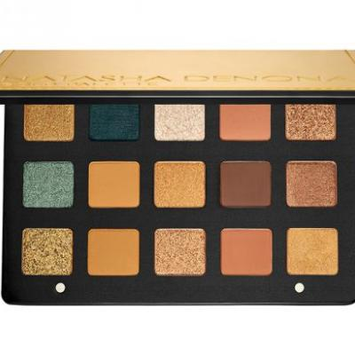 Natasha Denona Gold Eyeshadow Palette Release Date + Official Swatches