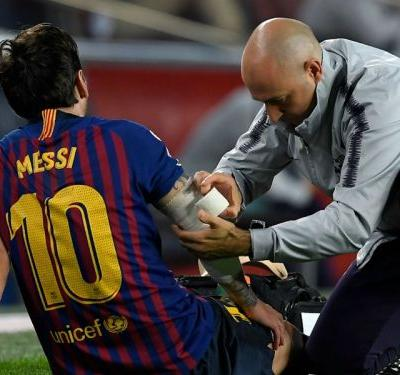 Inter, El Clasico and more - which games will Messi miss with broken arm?