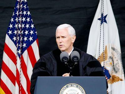 100 Notre Dame Students Walk Out During VP Mike Pence's Commencement Address