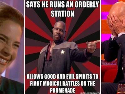 18 Star Trek Memes That Show Deep Space Nine Makes No Sense
