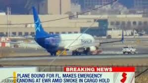 Florida bound plane makes emergency landing after smoke alarm