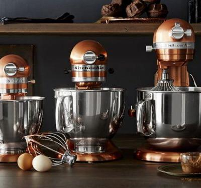 Save up to 50% on a KitchenAid Stand Mixer at Williams Sonoma - and more of today's best deals from around the web