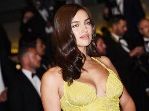Victoria's Secret Model Irina Shayk Returns To The Red Carpet After Giving Birth