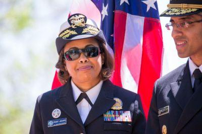 Sylvia Trent-Adams Becomes First African-American Nurse To Serve As U.S. Surgeon General