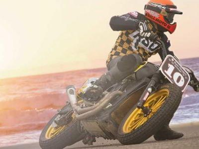 The Moto Beach Classic Is Bringing Flat Track, Mini Moto, And Dragstrip Racing To The Southern California Beach