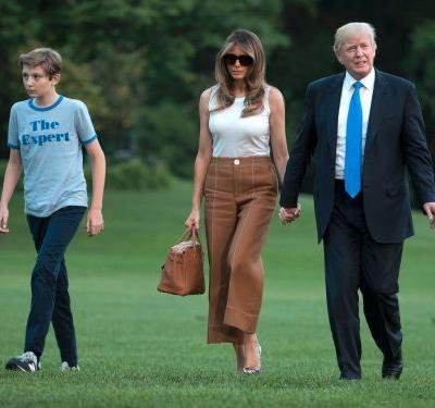 Melania Trump says she's a 'full-time mom' who refuses to hire a nanny - and it reveals a growing trend with the rich and powerful
