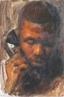 Portrait of a man oil painting