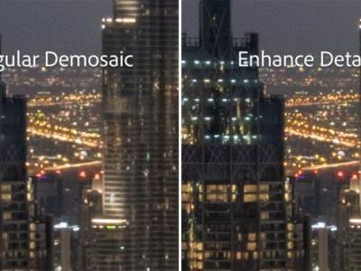 Adobe Enhance Details Increases RAW Photo Resolution By Up to 30%