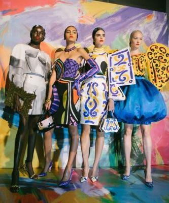 Art Attack! Moschino channels Picasso with its SS20 collection