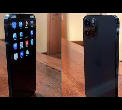 Prototype of a Pacific Blue iPhone 12 Pro surfaces on Twitter