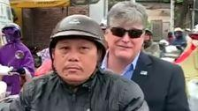 Fox News' Sean Hannity Forced To Hitch Scooter Ride From Stranger In Vietnam