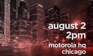 Motorola is making a big announcement on August 2, Moto Z3 and One Power likely to be outed