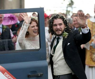 'Game of Thrones' stars Kit Harington and Rose Leslie tie the knot