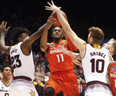 Syracuse takes surviving and advancing to whole new level