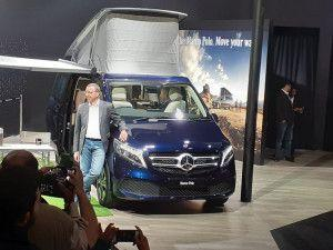 Mercedes-Benz Launches V-Class Marco Polo Campervan In India At Auto Expo 2020 At Rs 138 Crore