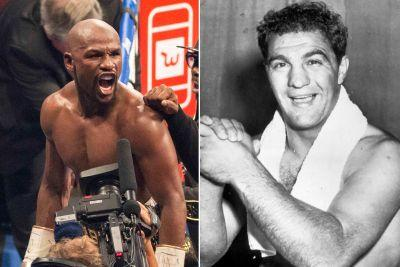Boxing legend's son calls out Mayweather: Record needs asterisk