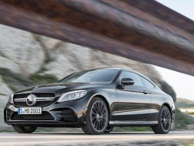 The Refreshed Mercedes-AMG C43 Coupe Is Here With 384bhp And 'Proper' Exhaust Pipes