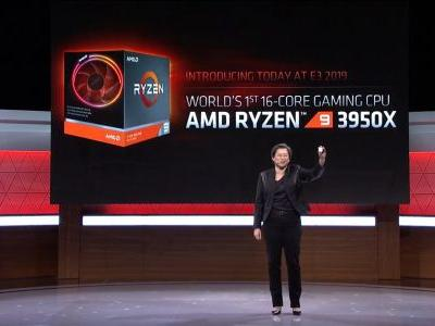 AMD announced the Ryzen 9 3950X, a 16-core mainstream processor