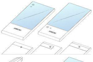 If foldables don't work, Samsung may just wrap the display around the phone's top