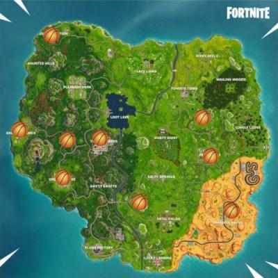 All Basketball Hoop Locations in Fortnite