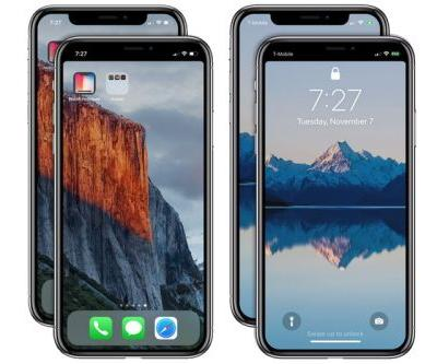 """App Now Available to Remove the iPhone X's """"Notch"""""""