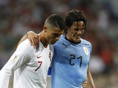 Clinical Cavani gives Ronaldo a finishing masterclass to dump out Portugal