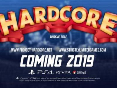 Long-Lost DICE Metroidvania HardCore Coming to PS4 and Vita