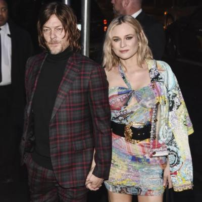 Aww! Norman Reedus Shares a Precious First Look at His Daughter With Diane Kruger