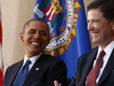 James Comey reportedly shared a heartfelt moment with Obama that nearly left him in tears