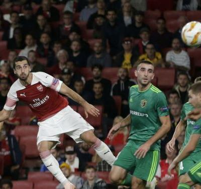 Mkhitaryan aiming for glory with Europa specialist Emery