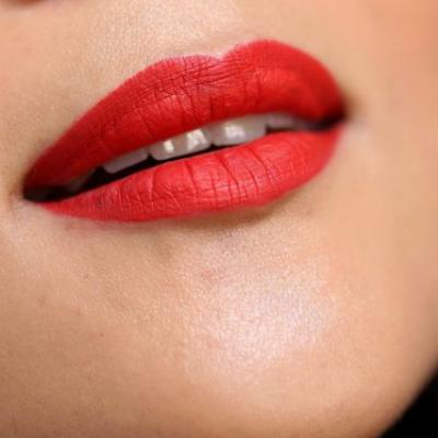 14 Days of Ravishing Red! - Day 8: Fire Engine Red Lips With MAC Fashion Legacy