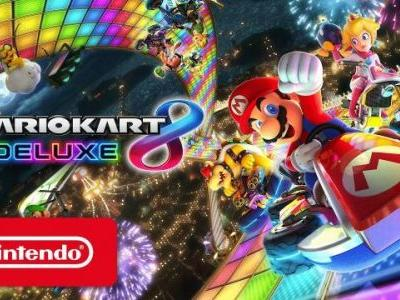 Mario Kart 8 Deluxe Version 1.3 Update Out Now