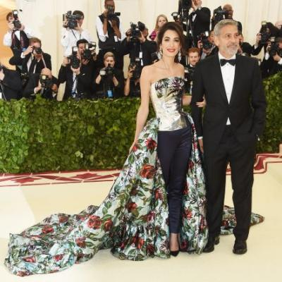 Rihanna, Bella Hadid, Amal Clooney and More Slayed the Met Gala Red Carpet: See All the Pics